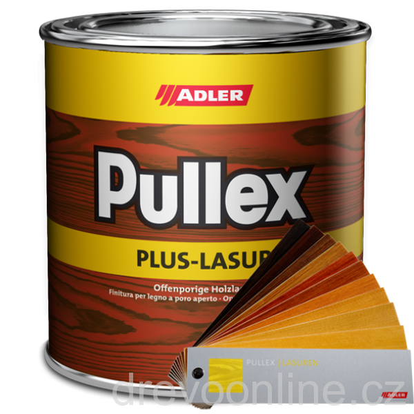 Lazura Adler Pullex Plus-Lasur 750 ml borovice