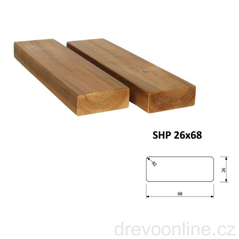 thermowood lavi kov profil saunov shp 26 x 68 x 3000 mm thermowood. Black Bedroom Furniture Sets. Home Design Ideas