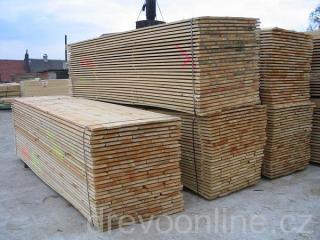 Cena prken na střechu