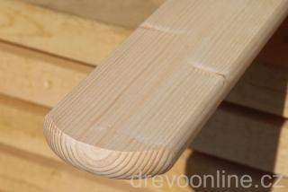 Dřevěné latě obi
