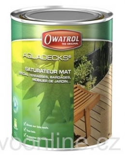 OWATROL AQUADECKS 5 L HONEY